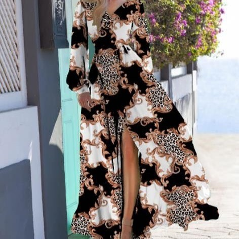 long-animalier-dress