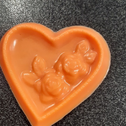 heart-soap-with-roses-orange