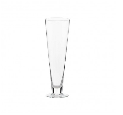 cone-glass-vase-with-foot