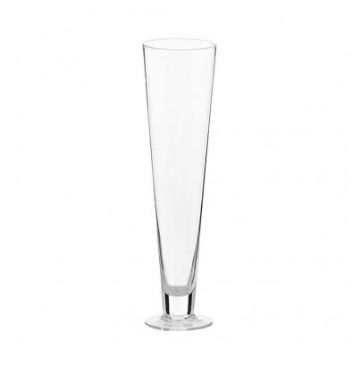 cone-glass-vase-with-foot-diam-13-cm