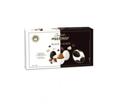 confetti-maxtris-cioccomandorla-dark-chocolate-and-milk-black-and-white-1-kg